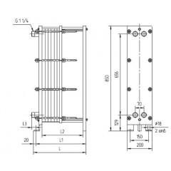 Уплотнения теплообменника Ридан НН 62 Кострома Пластинчатый теплообменник HISAKA RX-94 Сарапул