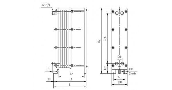 Теплообменник ридан нн 08 характеристики Пластины теплообменника Tranter GD-042 P Хасавюрт