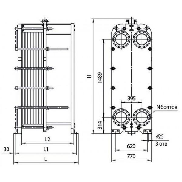 Теплообменник нн 7а цена Уплотнения теплообменника APV O050 Владимир