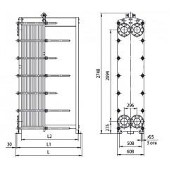 Пластины теплообменника Ридан НН 04 Каспийск Уплотнения теплообменника Alfa Laval AQ18-FG Махачкала