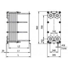 Уплотнения теплообменника Ридан НН 4А Рыбинск Теплообменное устройство Funke FP 20 Хасавюрт