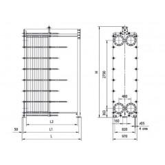 Пластины теплообменника Ридан НН 210 Комсомольск-на-Амуре Пластинчатый теплообменник Tranter GL-013 N Петропавловск-Камчатский