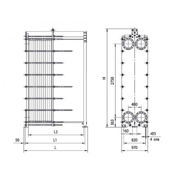 стальной или чугунный теплообменник конвектора