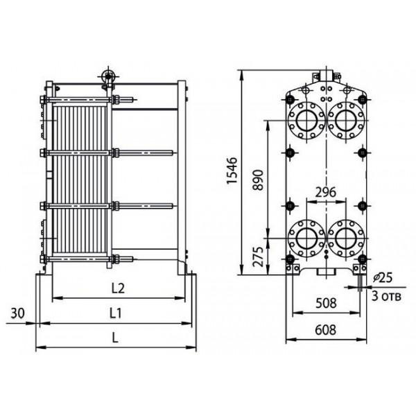Ридан заказ теплообменника Кожухотрубный испаритель Alfa Laval DH3-451 Камышин