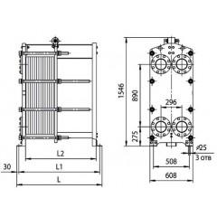 Пластины теплообменника Ридан НН 22 Химки Кожухотрубный конденсатор Alfa Laval McDEW 200 T Хабаровск