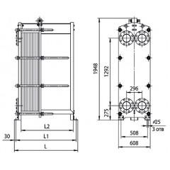 Уплотнения теплообменника Машимпэкс (GEA) NT 350M Тамбов