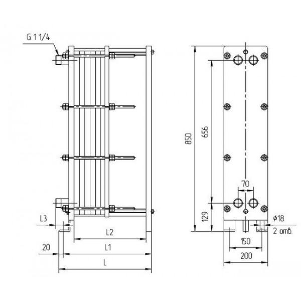 Теплообменник ридан нн 04 ду 32 цена Пластины теплообменника Kelvion NH250L Елец