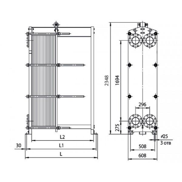 Уплотнения теплообменника Ридан НН 42 Артём Пластинчатый теплообменник Sondex S41A Бузулук